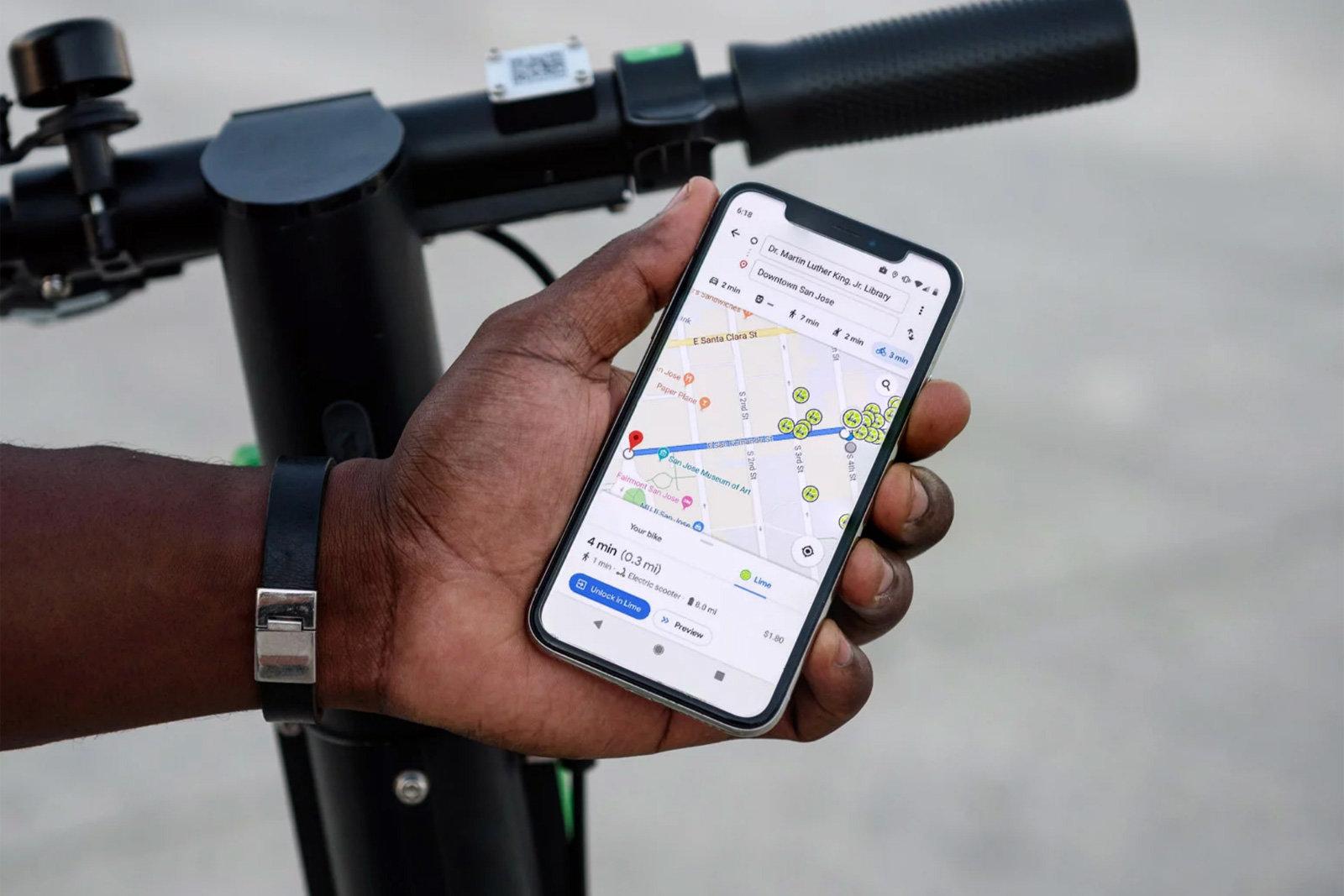 Spostarsi in bici con Google Maps diventa ancora più semplice