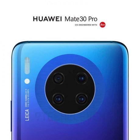 Huawei Mate 30 Pro Leak Blue 768x768