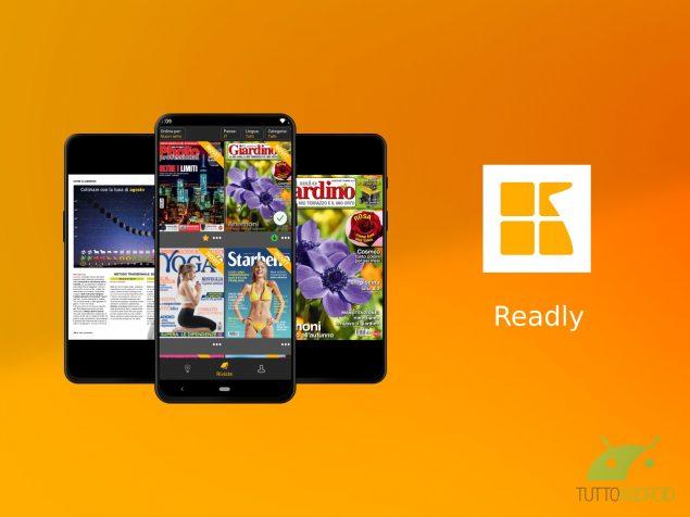 Con l'app Readly è come avere un'edicola in tasca