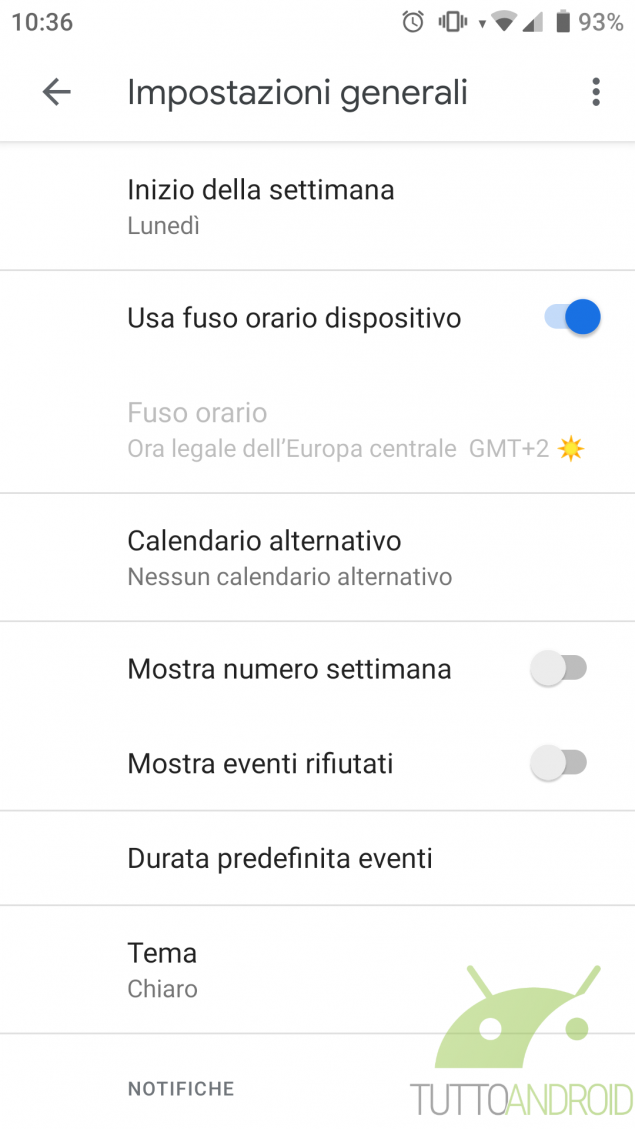 Notifiche Calendario Android.Google Calendar Pieno Di Eventi Spam Ecco Come Eliminarli