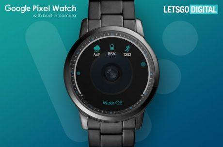 Google pixel watch camera