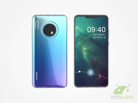 Huawei mate 30 render CV