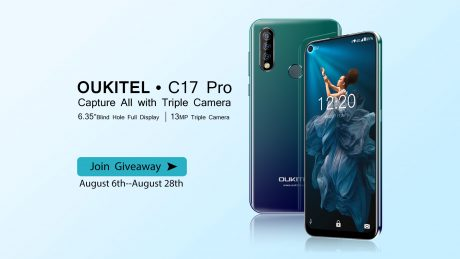 Join c17 pro giveaway