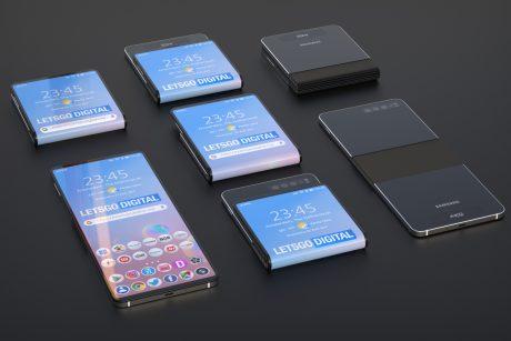 Il brevetto del Samsung Galaxy Fold 2 mostra un concept deci