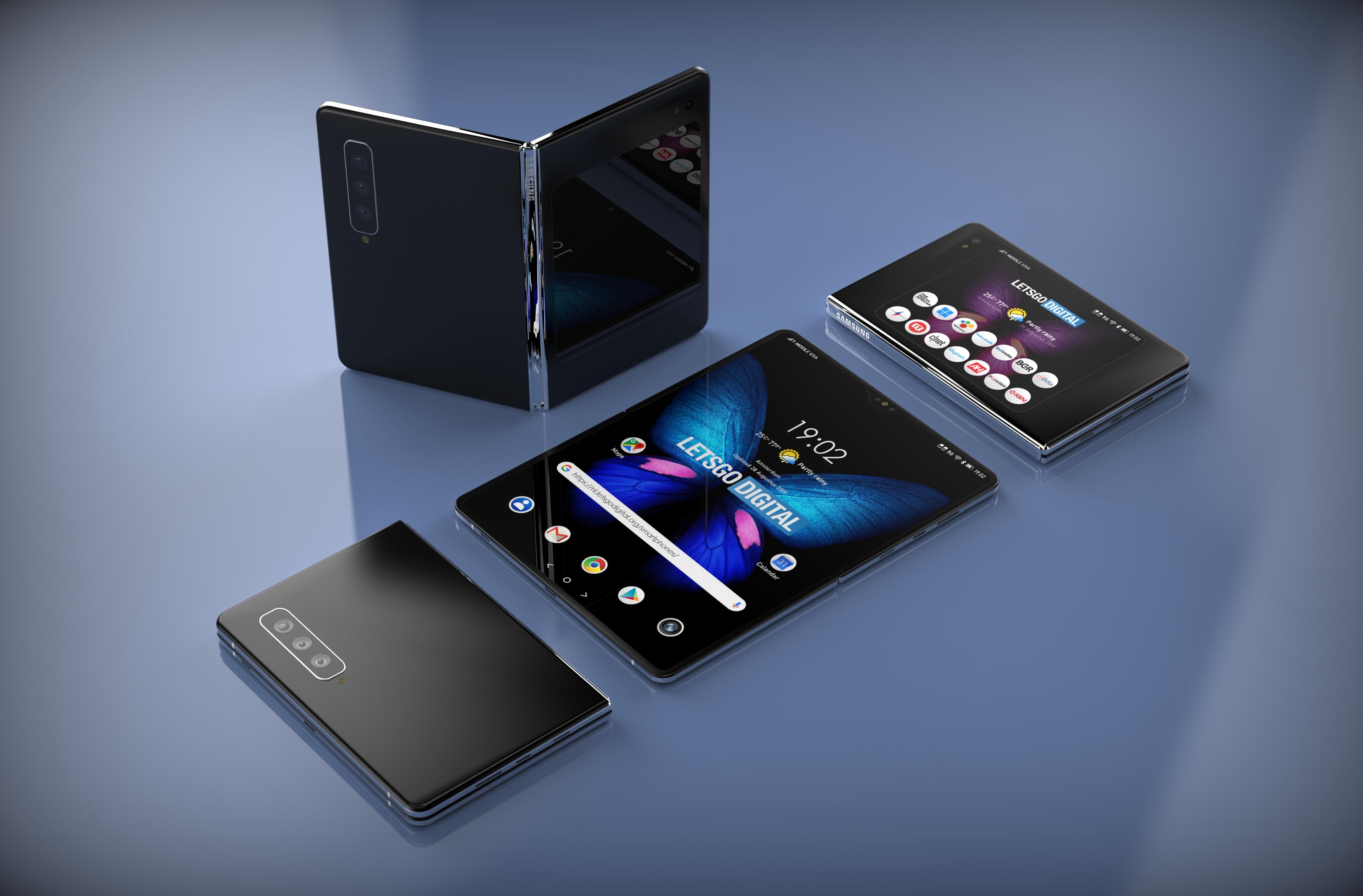Samsung Galaxy Fold 2 avrà un nuovo design quadrato e fotoca