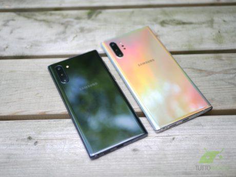 Samsung Galaxy Note 10 e Note 10+ si preparano al debutto co