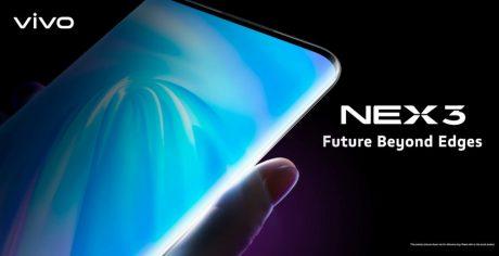 Vivo NEX 3 ufficiale in Cina: display estremo e specifiche al top, anche in variante 5G