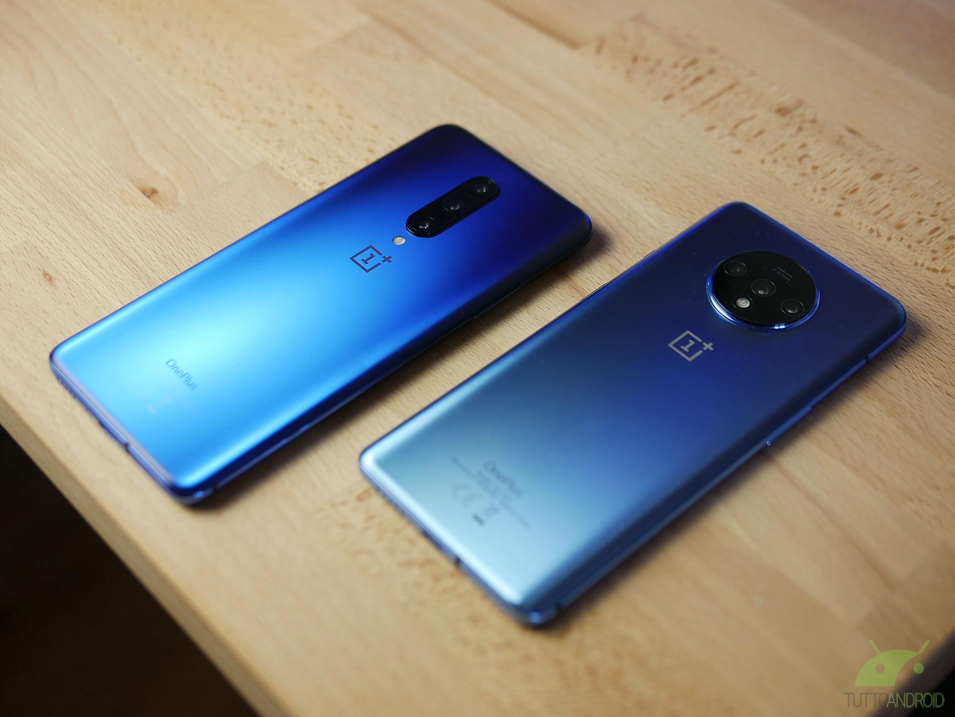 La serie OnePlus 7 e 7T si aggiorna con le nuove OxygenOS Op