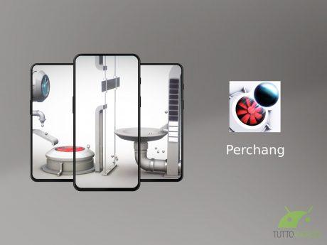 Perchang è un rompicapo basato sulla fisica con livelli ispi