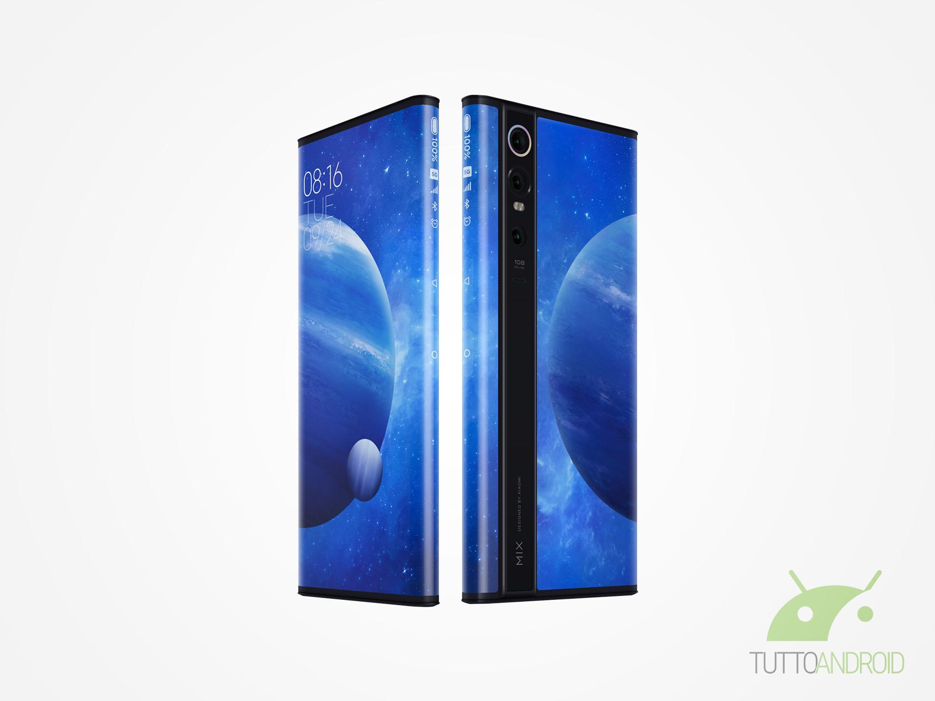 Xiaomi Mi MIX Alpha e Sony Xperia 10 II messi a nudo: eccoli