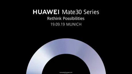 Huawei mate 30 series launching