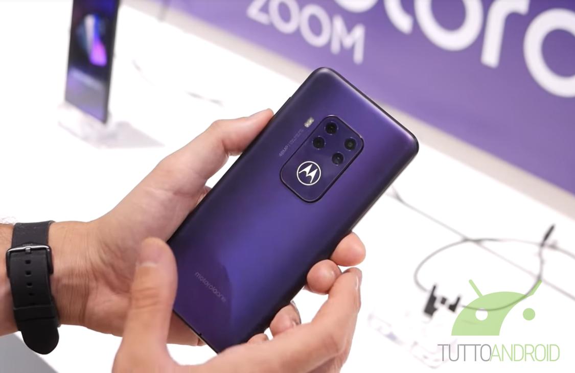 Secondo DxOMark il Motorola One Zoom è un buon punto di part