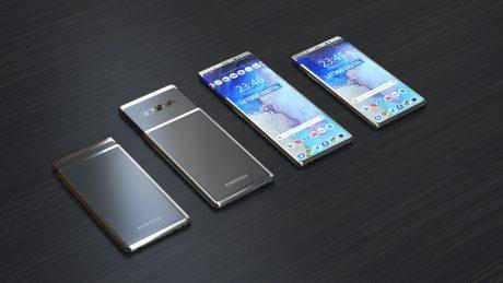 Samsung slider smartphone F