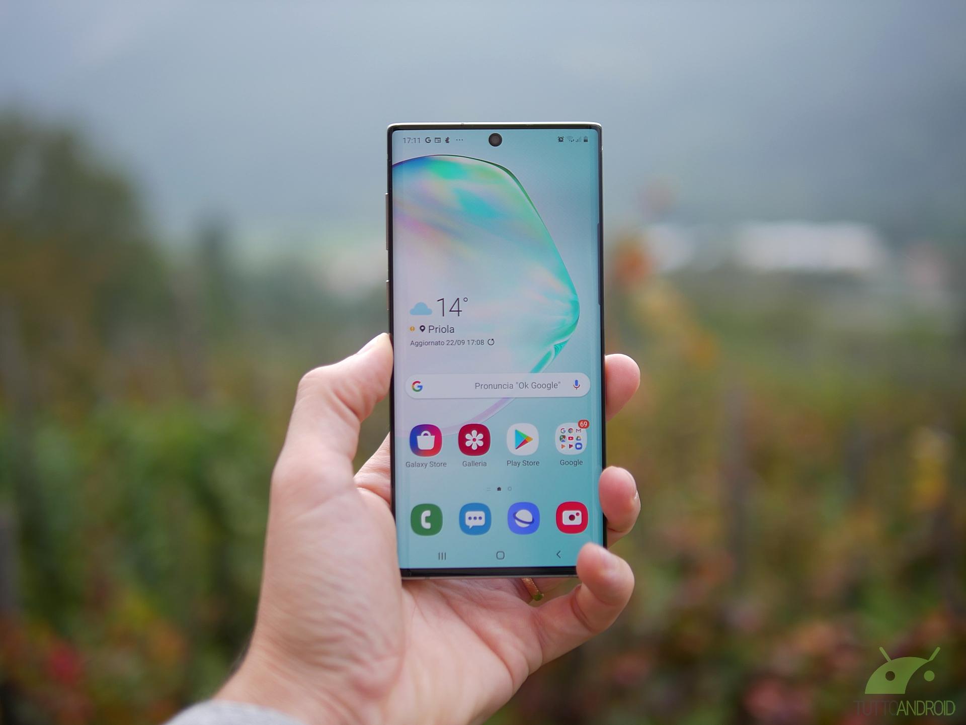 Samsung svela due nuove colorazioni per il Galaxy Note 10