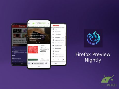 Firefox Preview Nightly