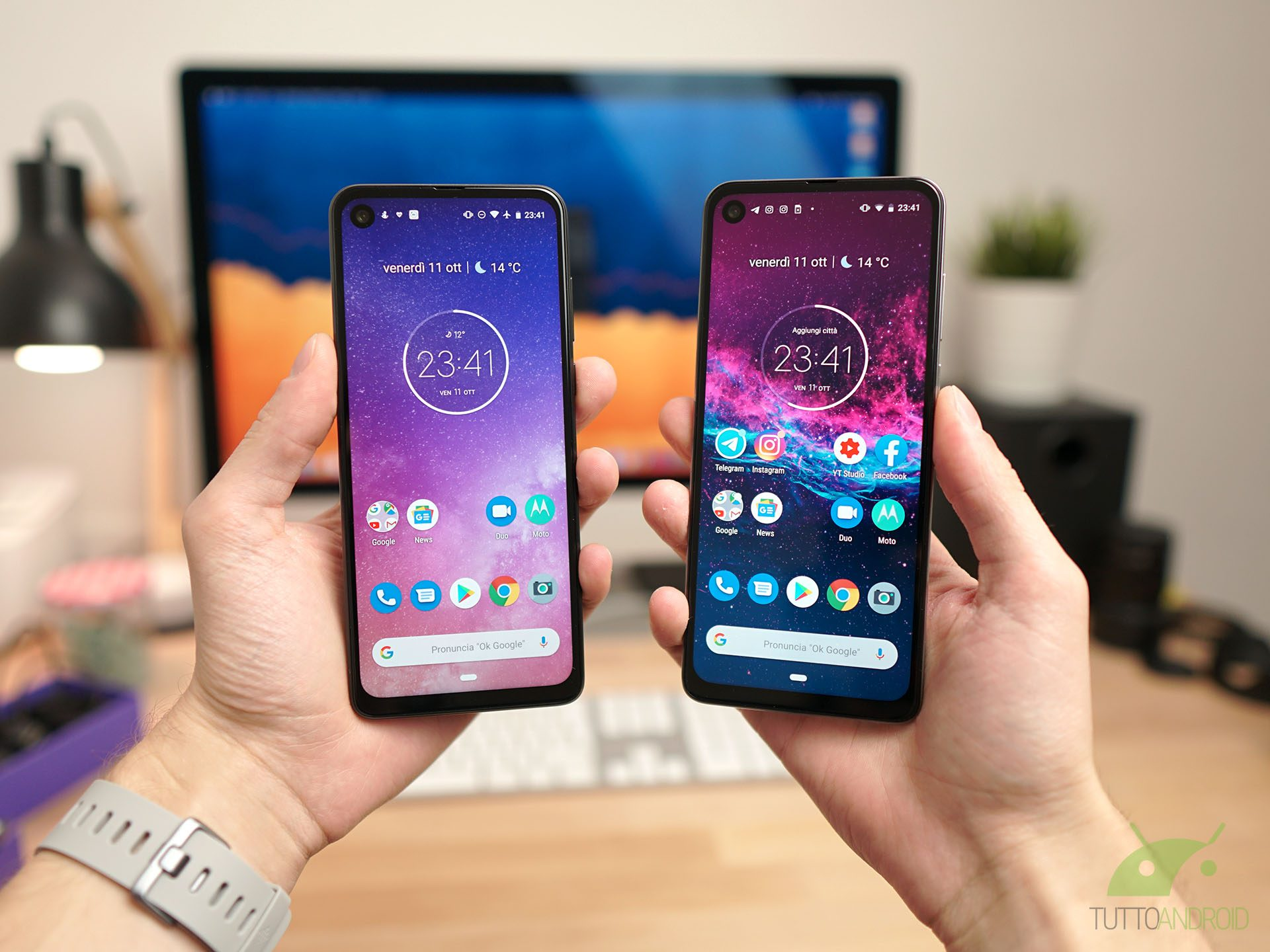 Recensione Motorola One Vision: un Android One in 21:9 da no