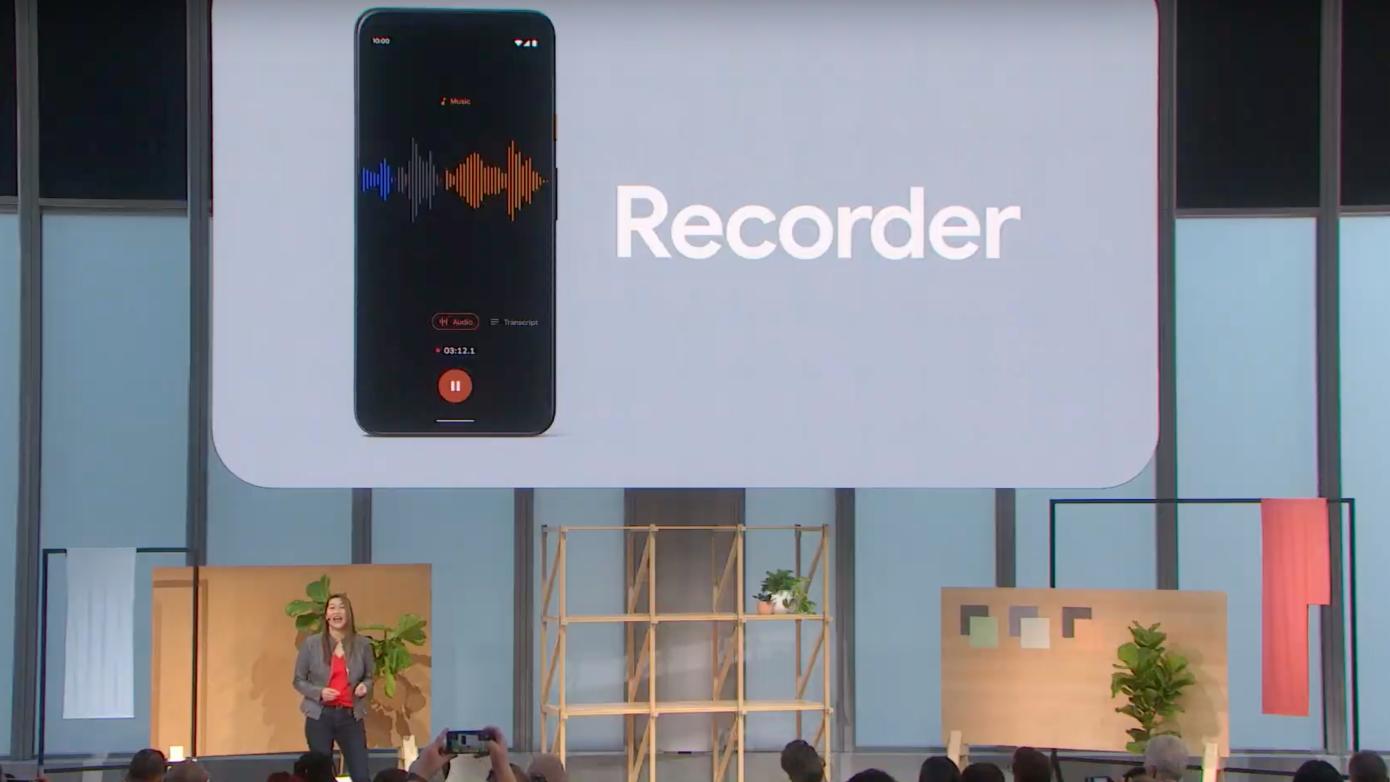 Google Recorder è la nuova app che trascrive in tempo reale