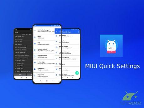 MIUI Quick Settings