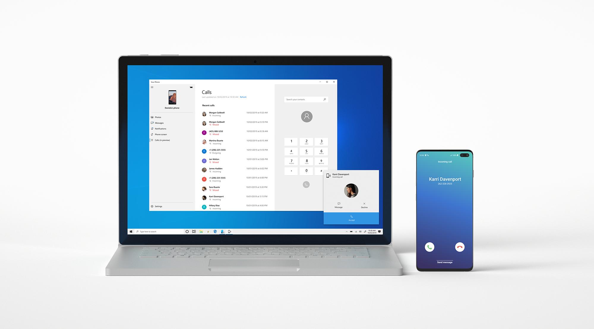 Your Phone: in arrivo la possibilità di utilizzare le app del telefono sul PC