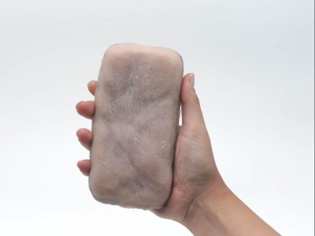 cover smartphone pelle sintetica