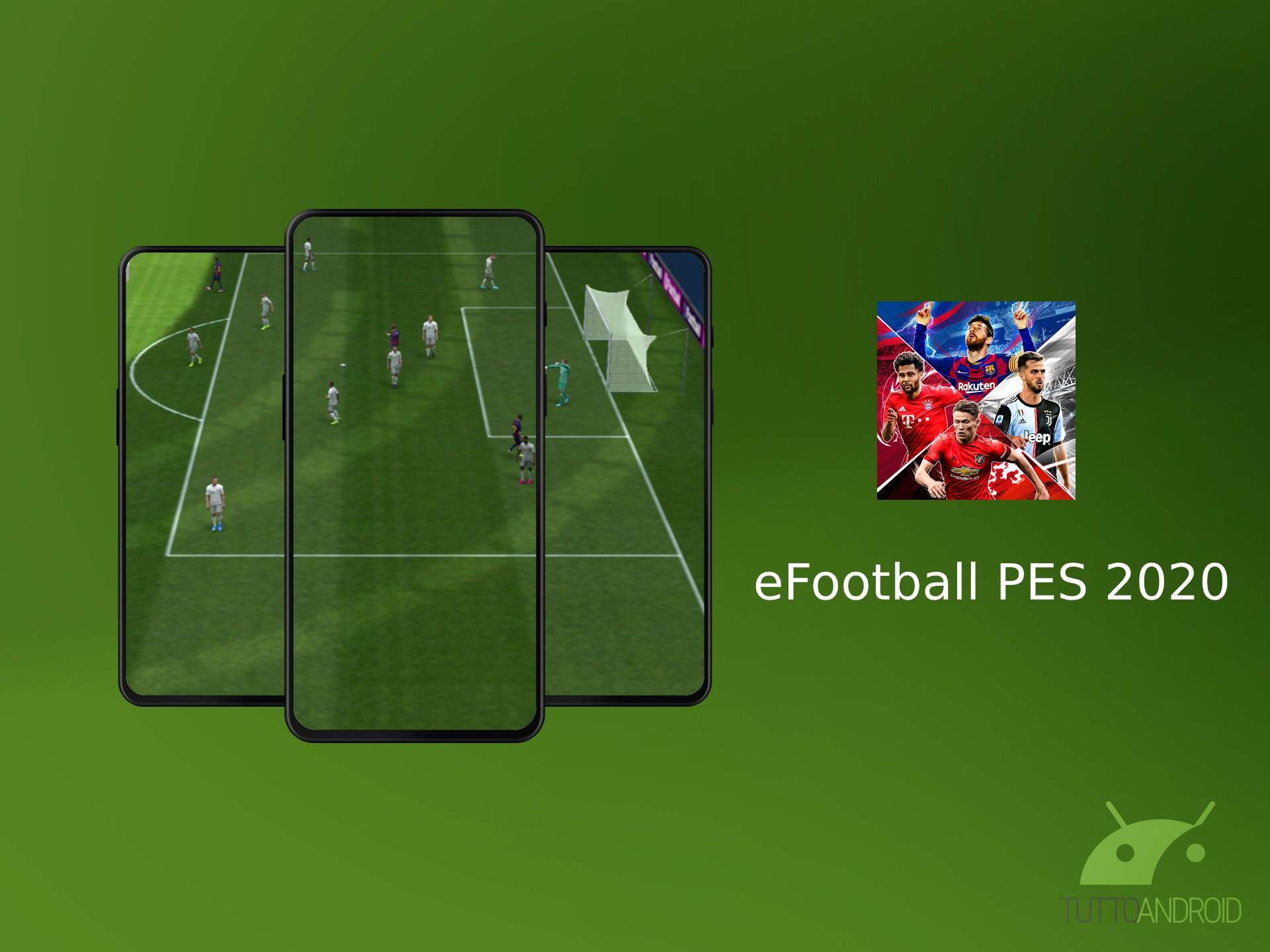 eFootball PES 2020 arriva su Android ed è già giocabile