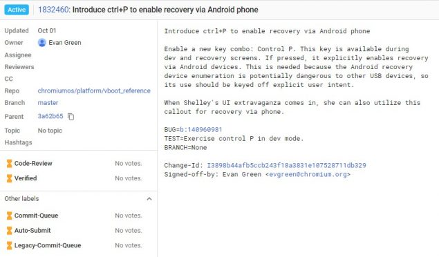 google chromebook recovery smartphone android