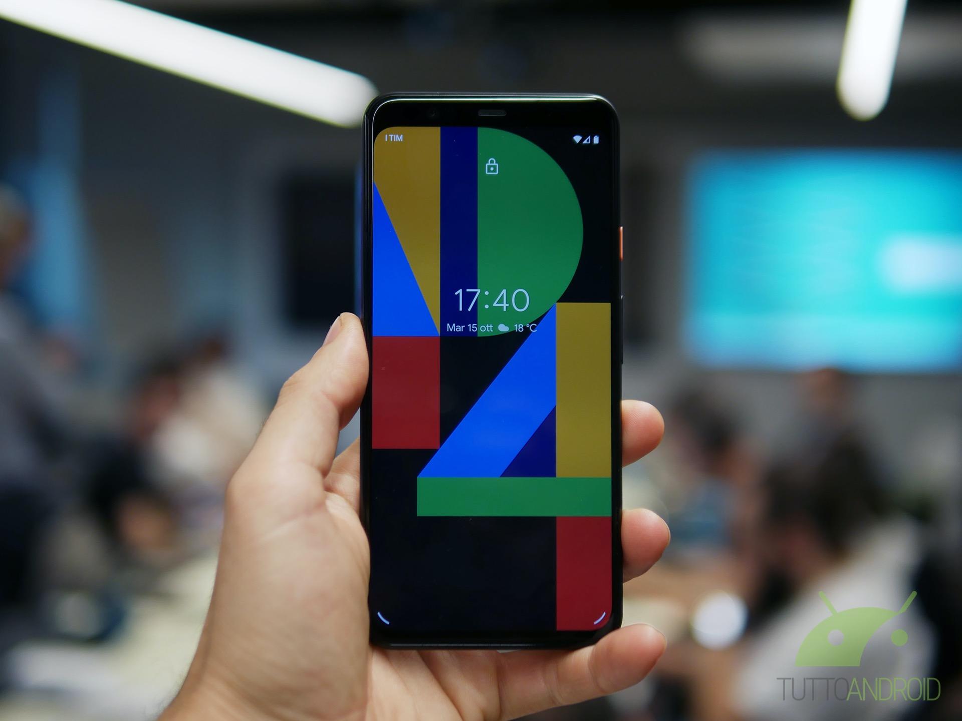 Il face unlock dei Google Pixel 4 fa cilecca e sblocca con g