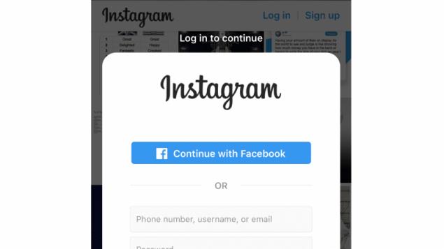 instagram ban autolesionismo meme disegni log-in profili pubblici