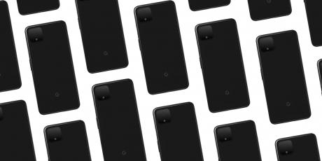 Pixel 4 just black