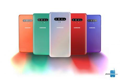 Samsung galaxy s11 colors