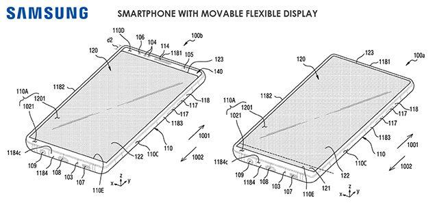 samsung smartphone display mobile