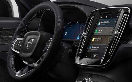 Volvo xc40 android auto ev e1570688688482
