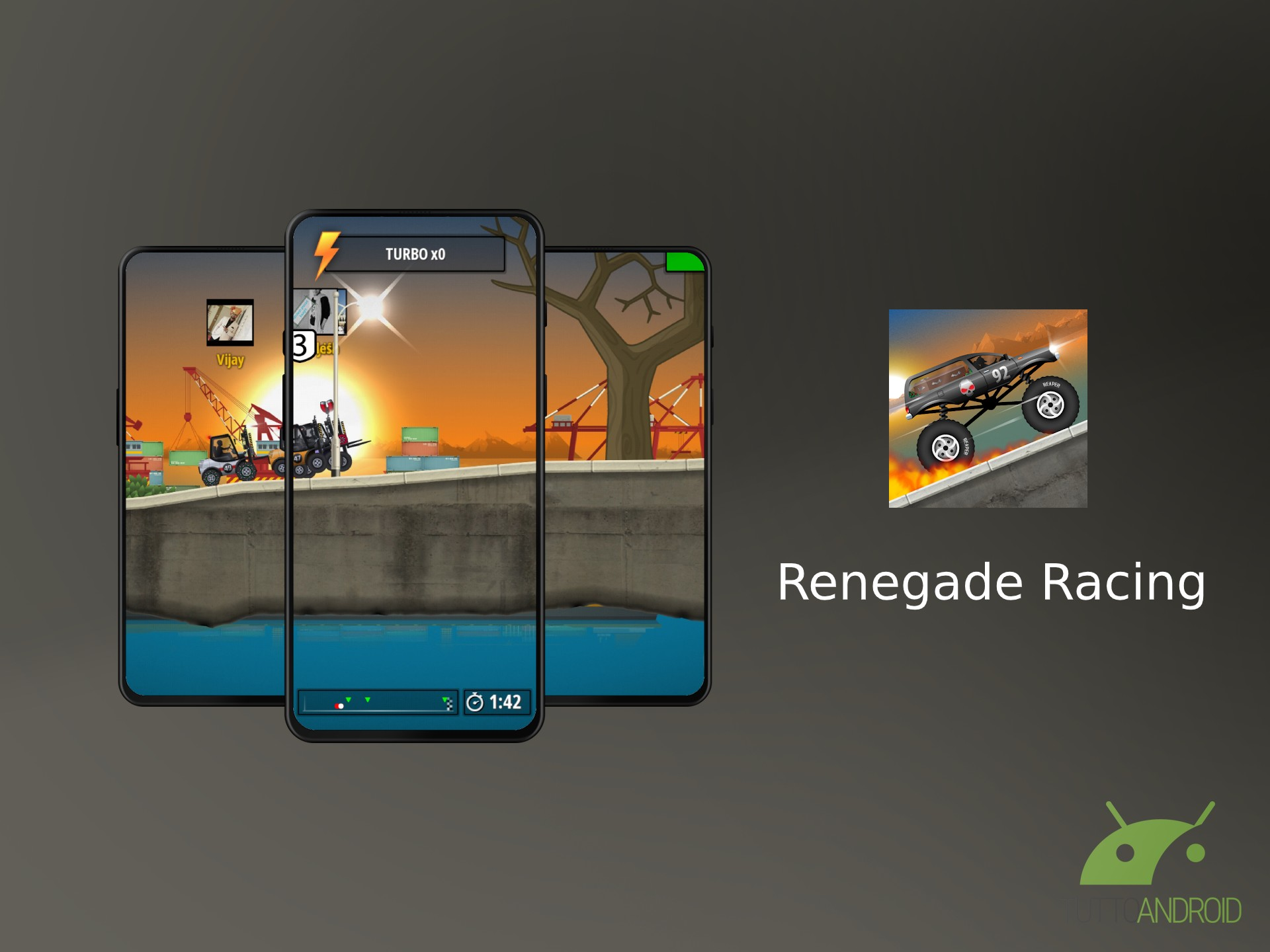 Le corse multigiocatore di Renegade Racing approdano su Andr