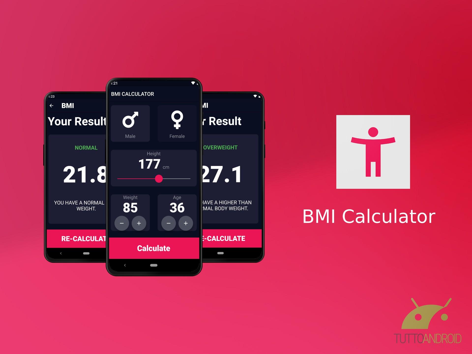 BMI Calculator permette di calcolare al volo il peso forma