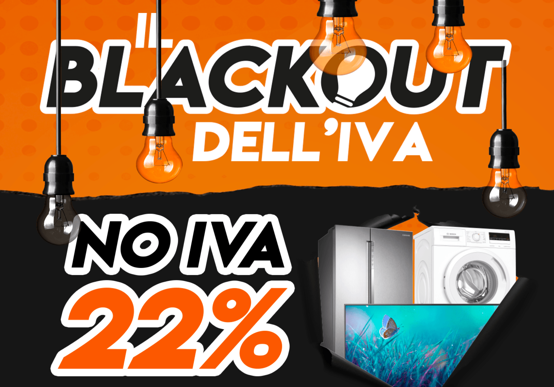 """Il Blackout dell'IVA"" di Expert ci dà un assaggio di Black Friday"