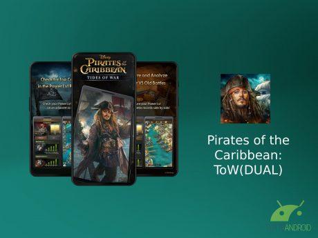 Pirates of the caribbean dual screen