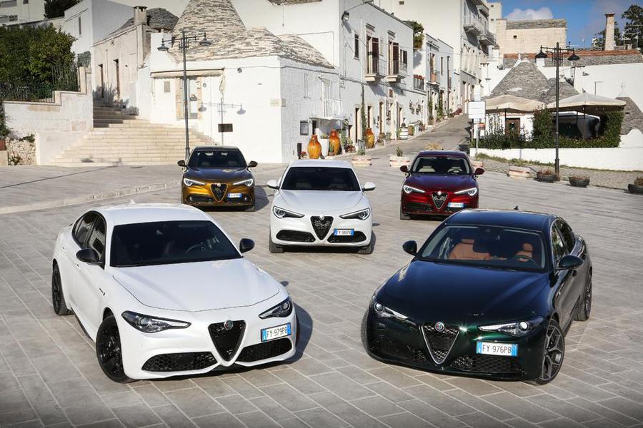 Il rinnovamento di Alfa Romeo Giulia e Stelvio porta tanta t