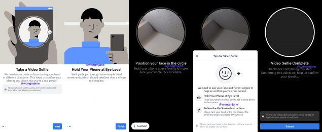 facebook bot riconoscimento facciale