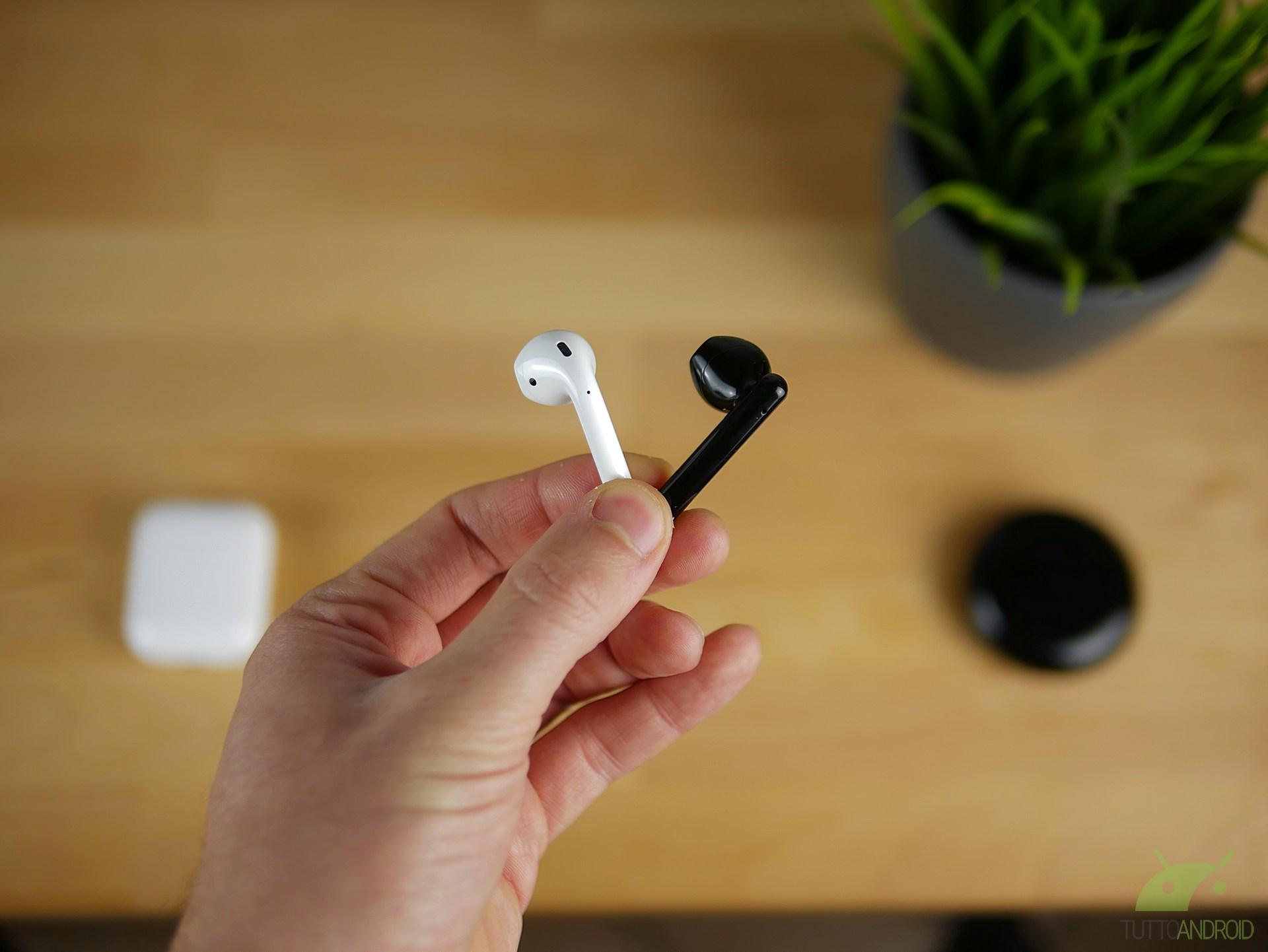 Huawei Freebuds 3 o Apple Airpods 2 |  quali sono le migliori true wireless non in ear?