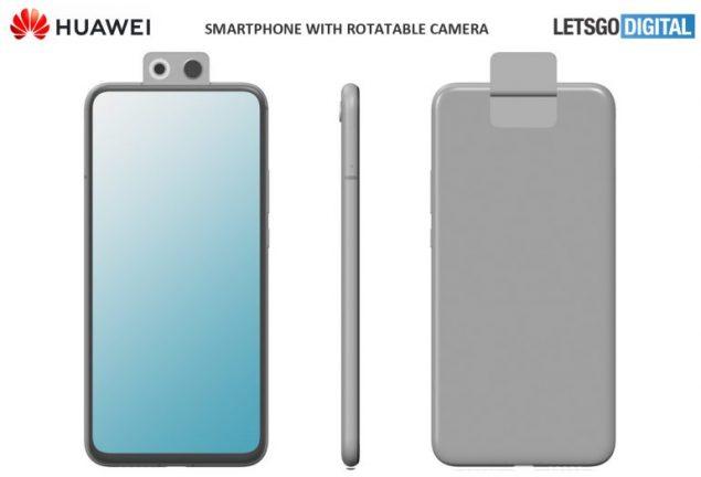 huawei p smart z 2020 smartphone fotocamera rotante brevetto