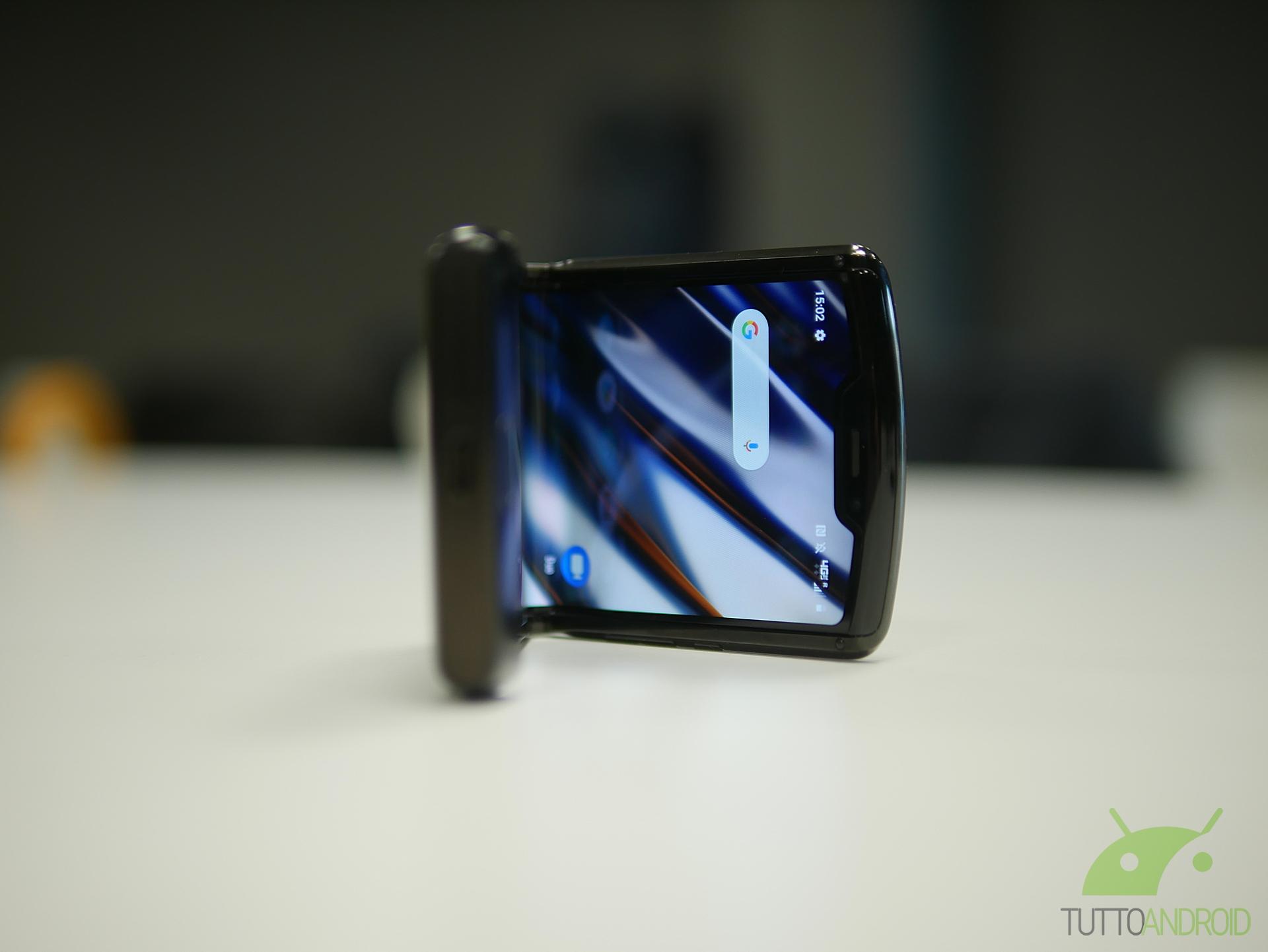Questo potrebbe essere il design di Motorola RAZR 5G