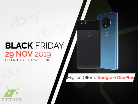 Offerte ebay googel op black friday