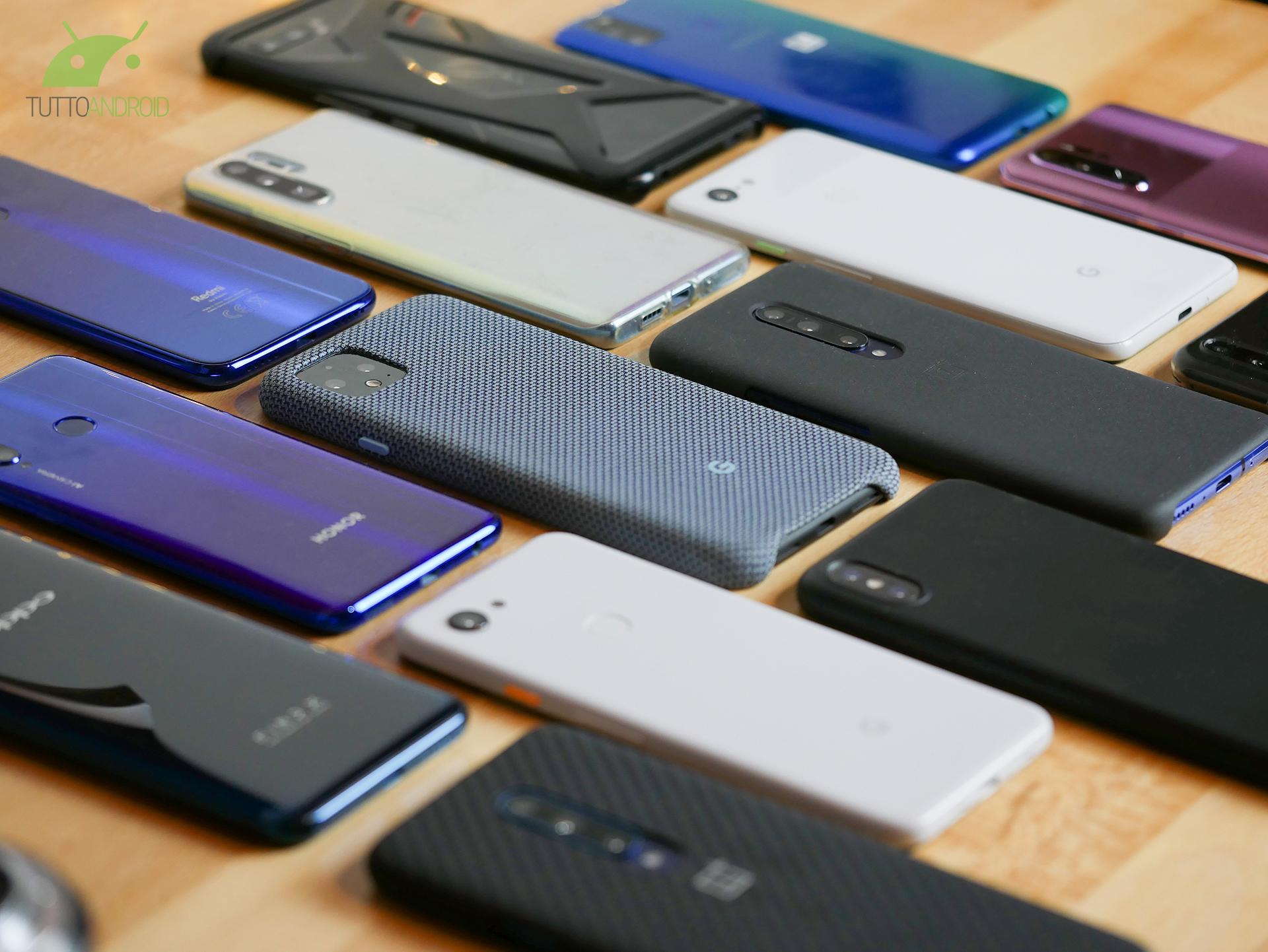 Quali sono gli smartphone preferiti dagli italiani? Ce lo rivela uno studio