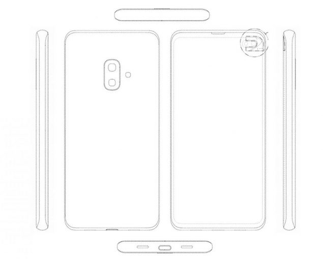 samsung galaxy s10 lite brevetto design s10 plus s9