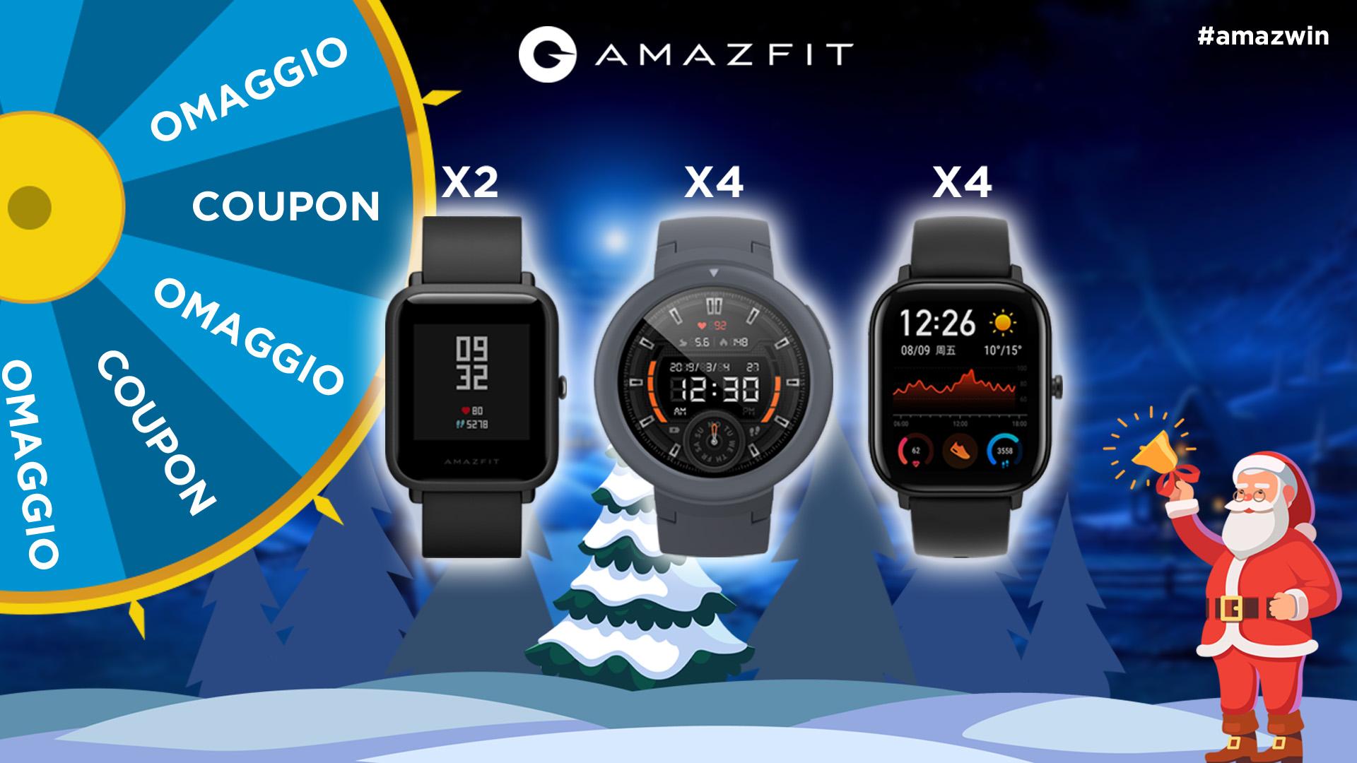 Amazfit lancia il concorso di Natale che mette in palio diec