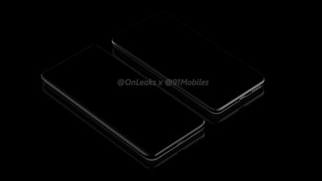Huawei P40 e P40 pro render