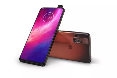 Motorola One Hyper marrone