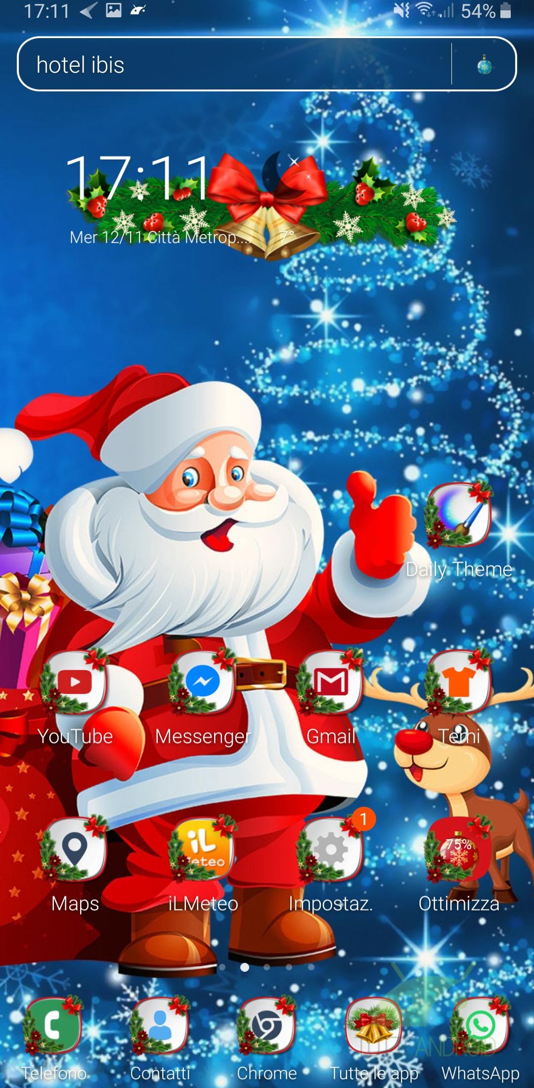 Sfondi Babbo Natale.Trasformate Lo Smartphone In Una Festa Di Natale Con Queste 6 App