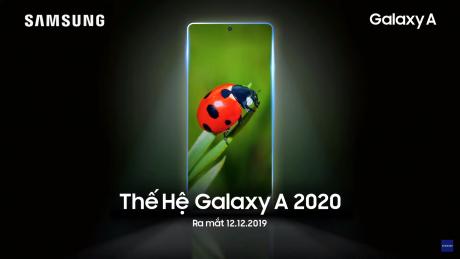 Samsung Galaxy A 2020 teaser