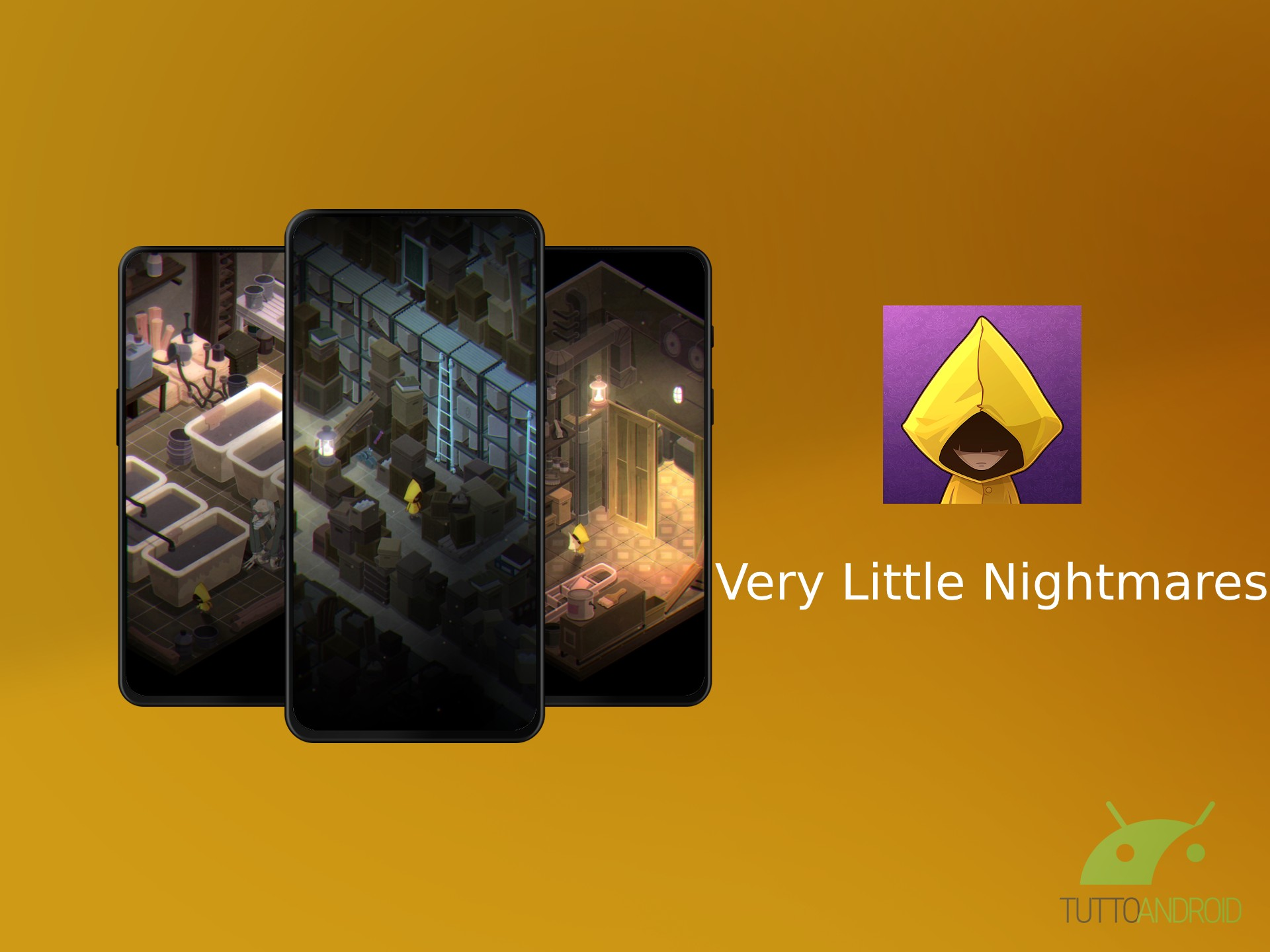 Very Little Nightmares approda su Android con nuovi enigmi e